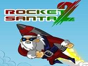 Rocket Santa…