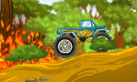 Monster Truck vs Forest C…